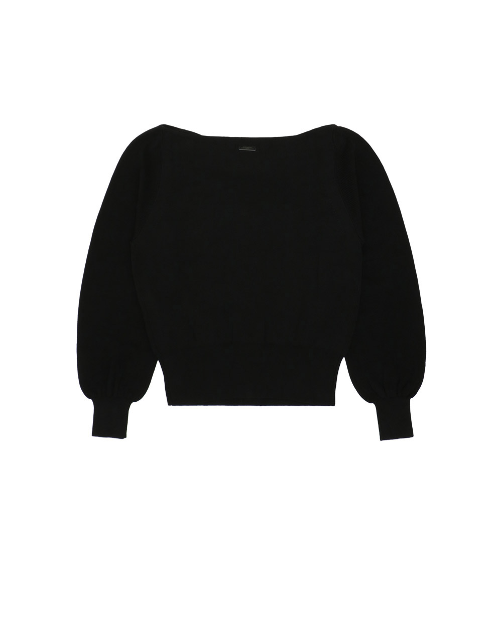 Cotton Long-Sleeves Sweater 1