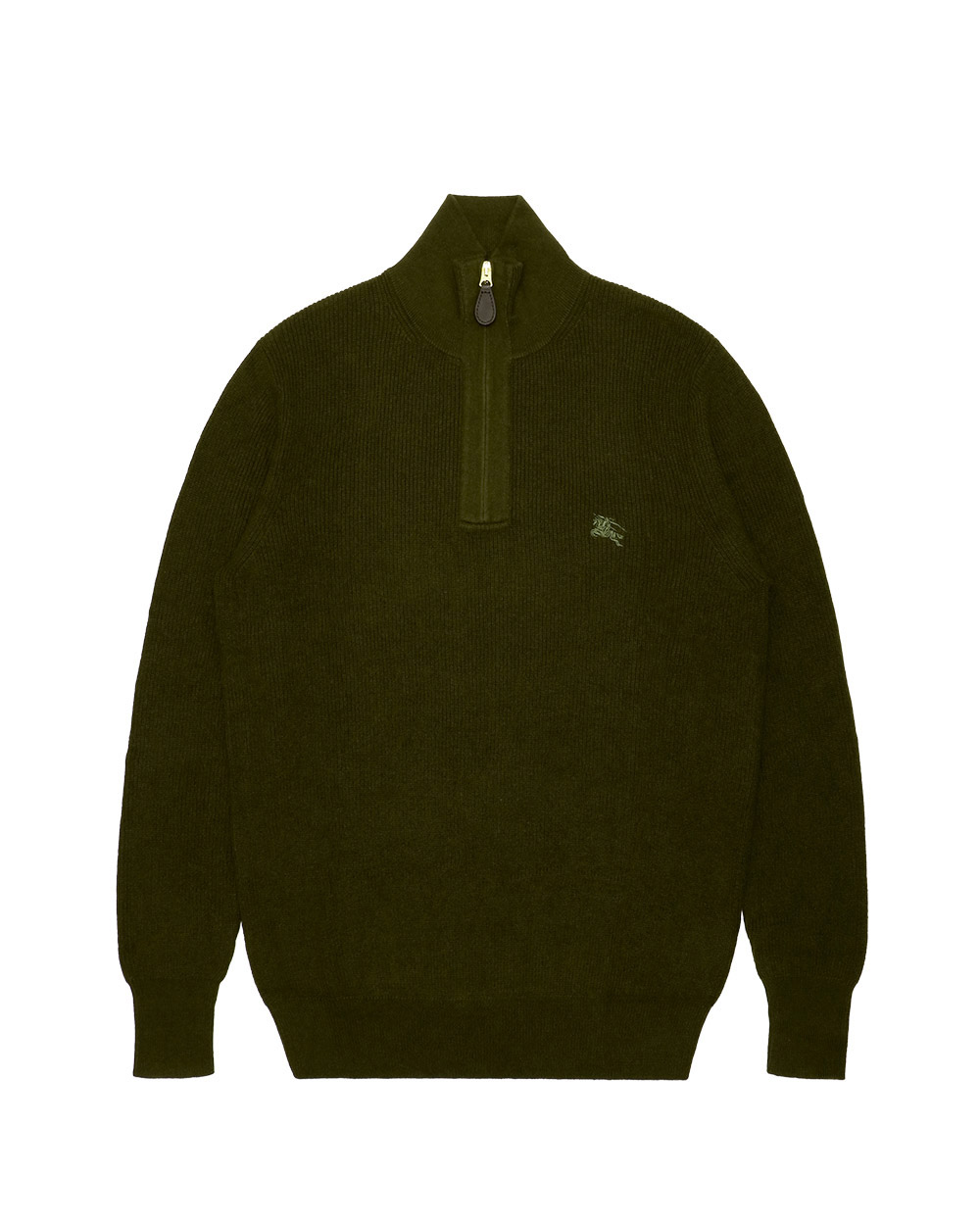 Cotton High Neck Sweater
