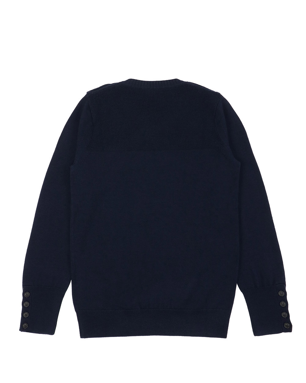 Round Neck Long Sleeves Sweater 1
