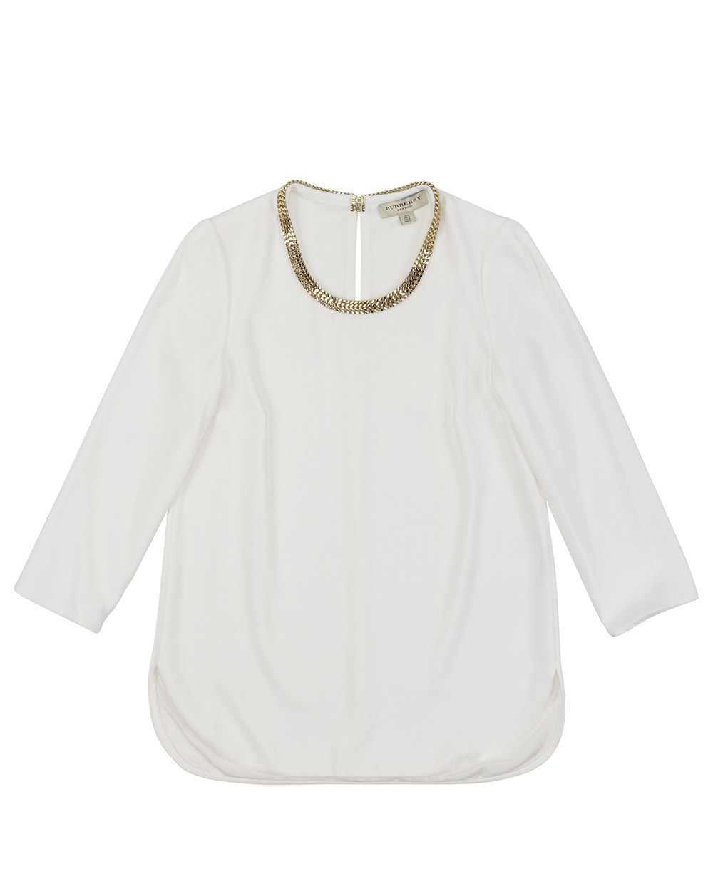Metal Chain Crew Neck T-Shirt