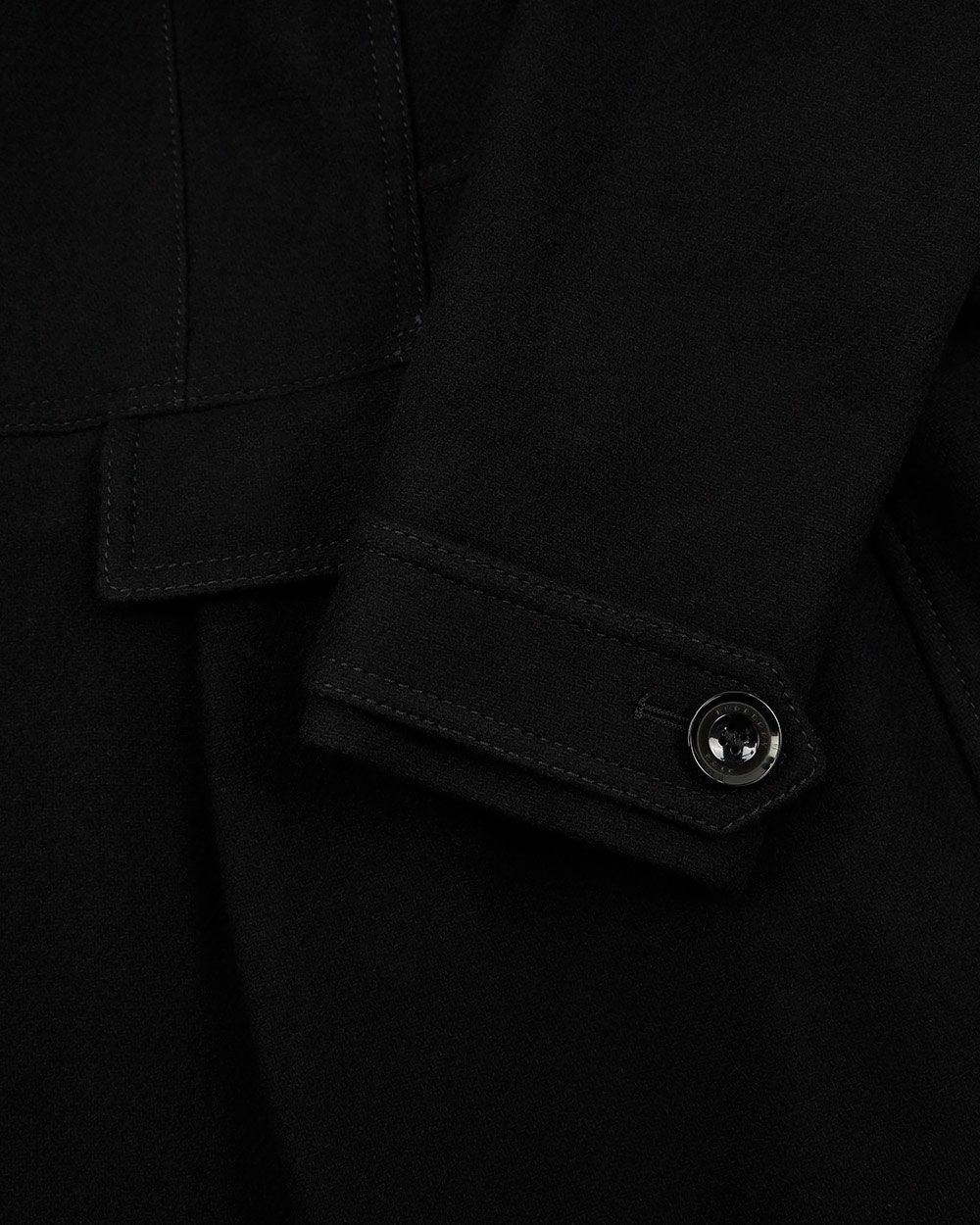 Single-Breasted Mid-Length Trench Coat 2