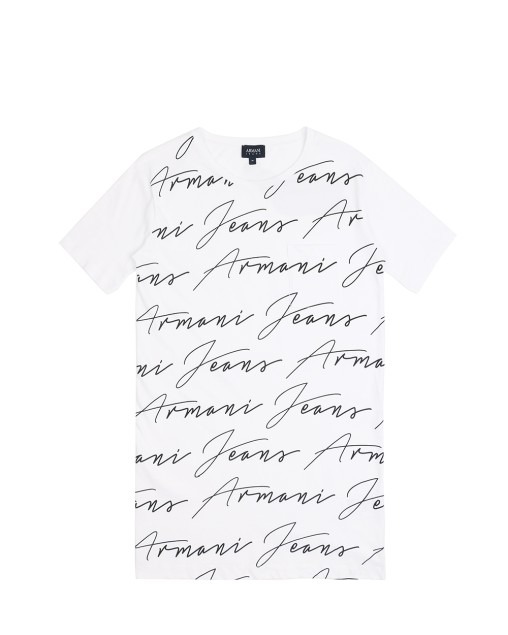 Logo Print Long T-Shirt