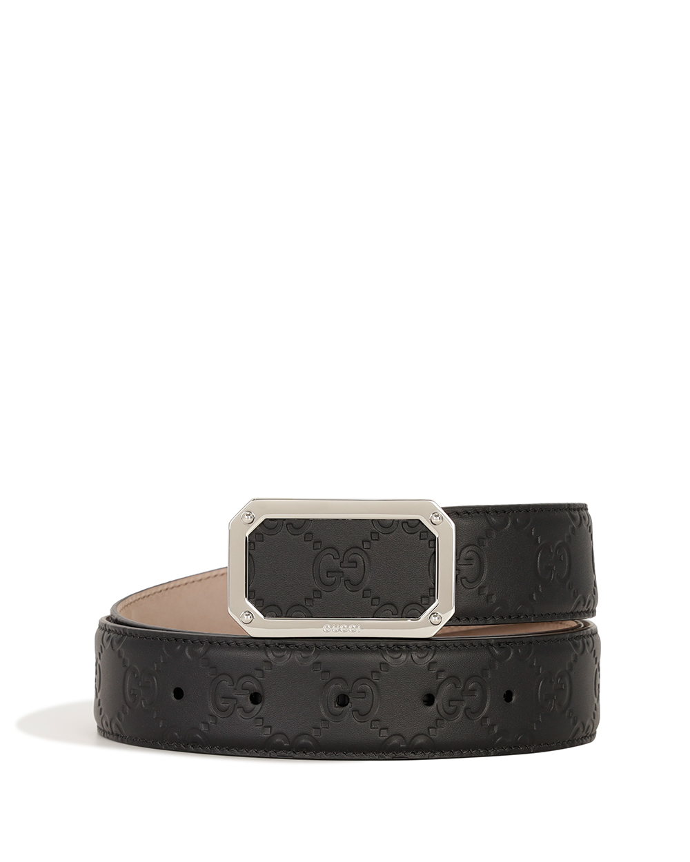 Signature Leather Belt 403941CWC0N