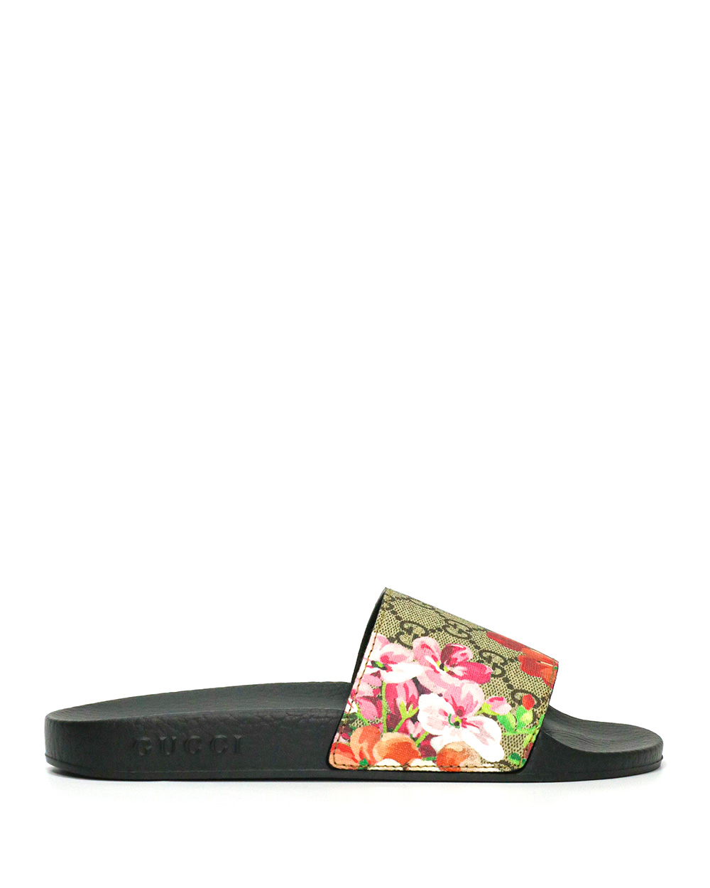 GG Blooms Supreme Floral Slide Sandals