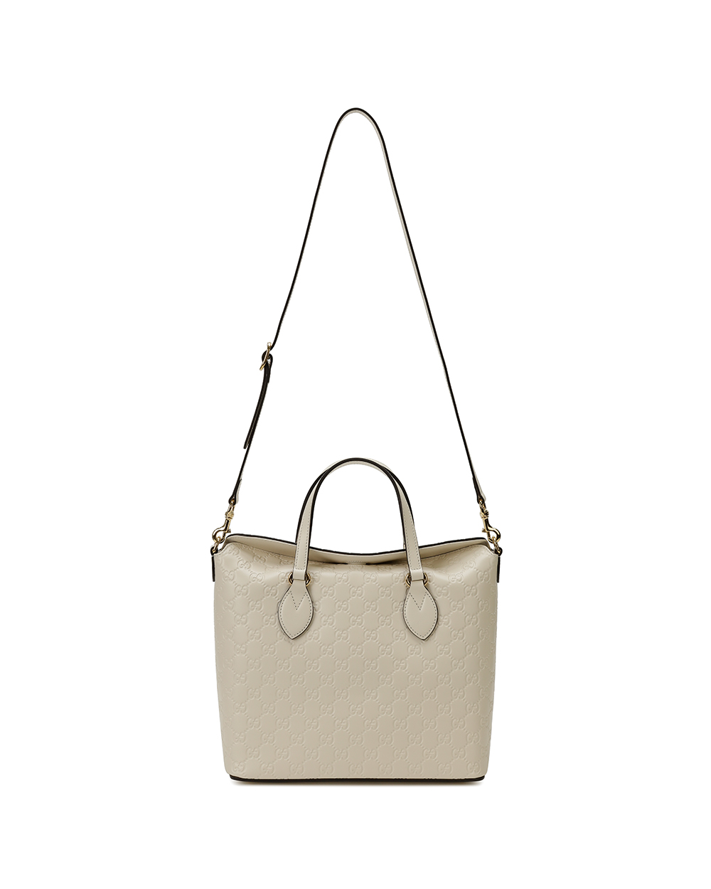 Signature Leather Top Handle Bag 1