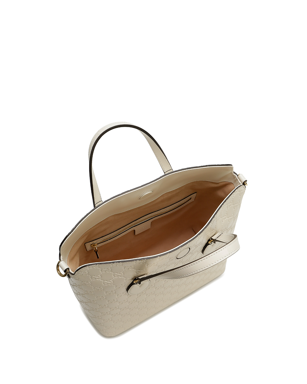 Signature Leather Top Handle Bag 2