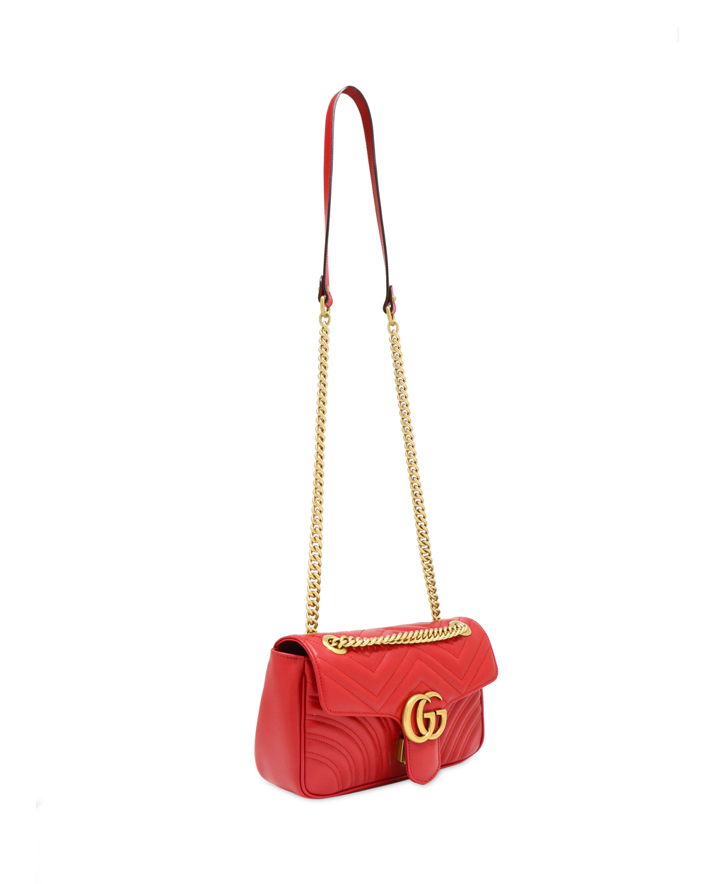 GG MARMONT Small Leather Shoulder Bag 1