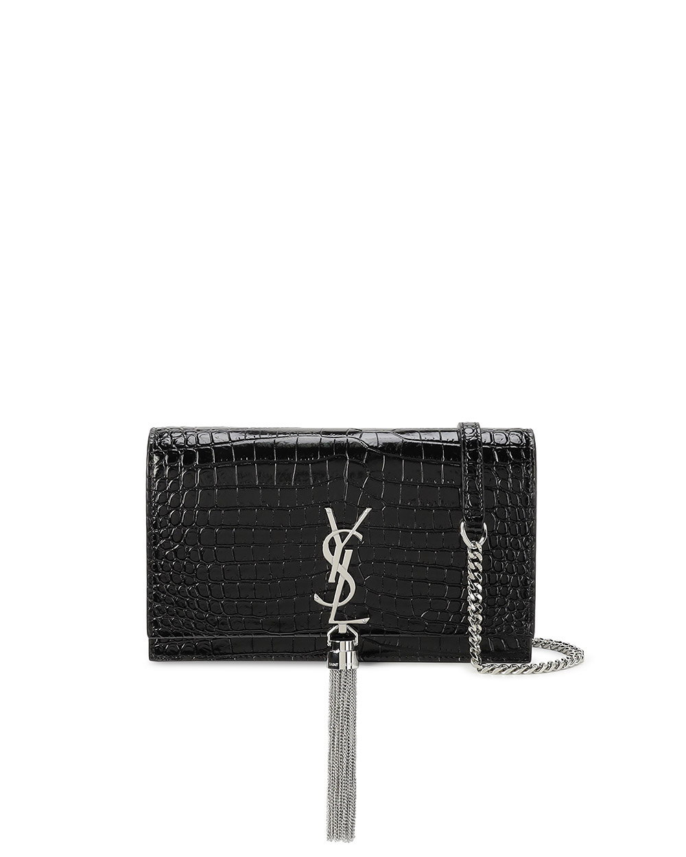 Crocodile Leather Crossbody Bag