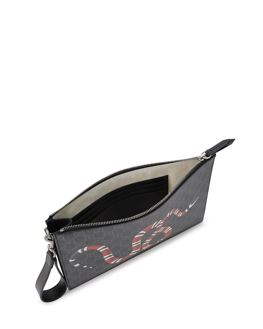 Gucci Bestiary pouch with Kingsnake 1