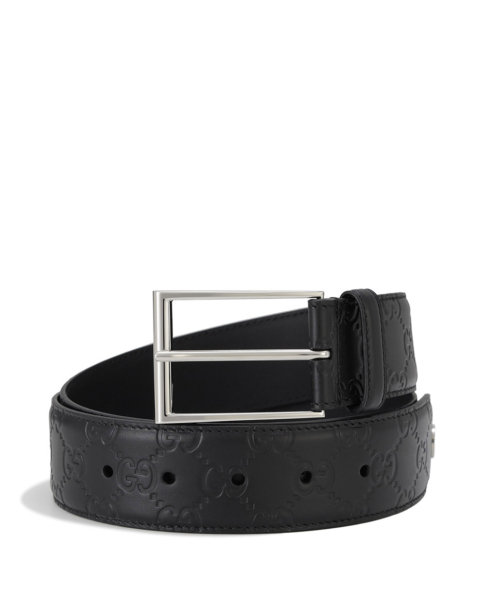 Signature Belt with Double G Detail