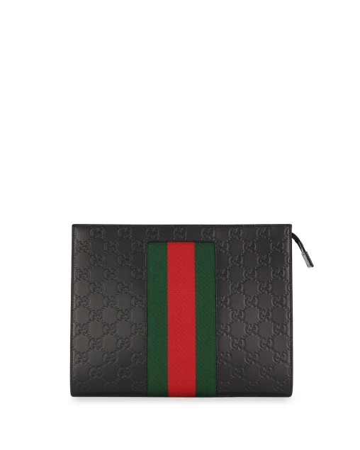 Signature Leather Pouch