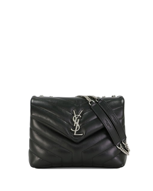 Loulou Small Shoulder Bag In Quilted Leather