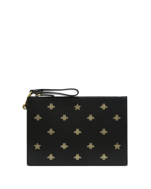 Bee Star Leather Pouch