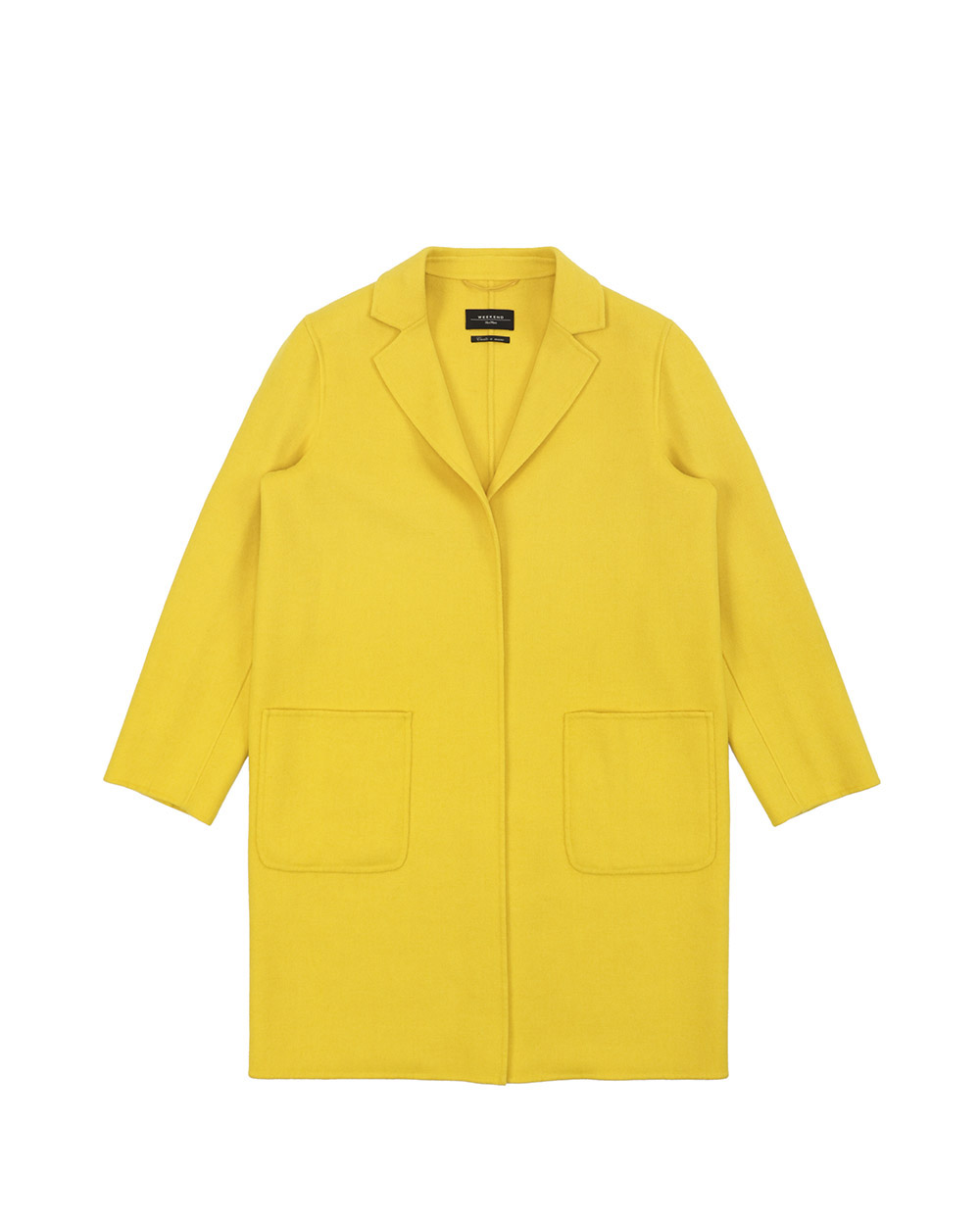 Mid-Length Hooded Trench Coat