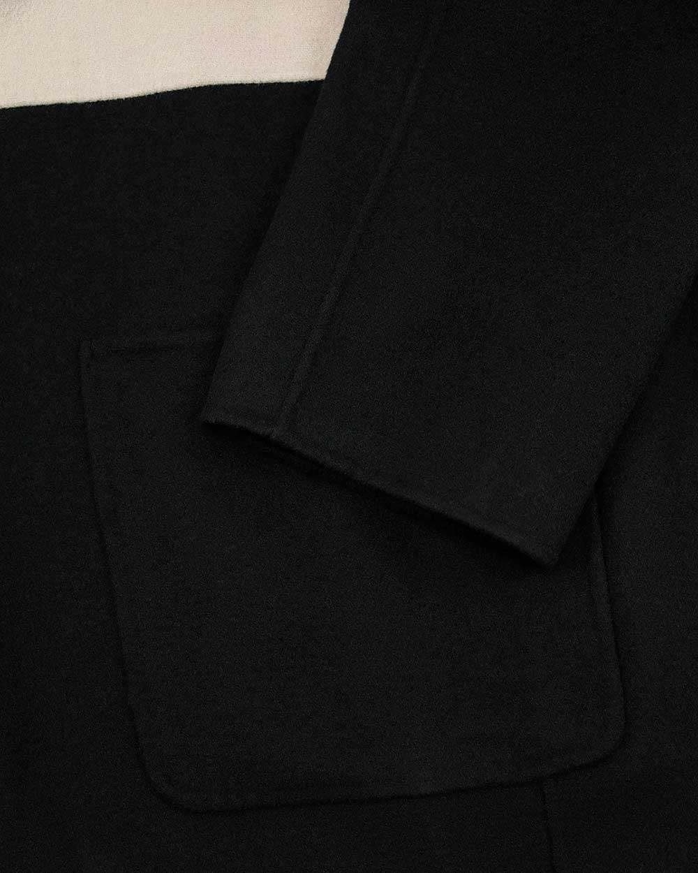 Wool Mid-Length Trench Coat 2