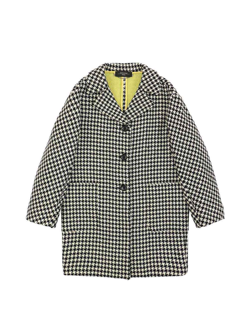 Wool Mid-Length Trench Coat