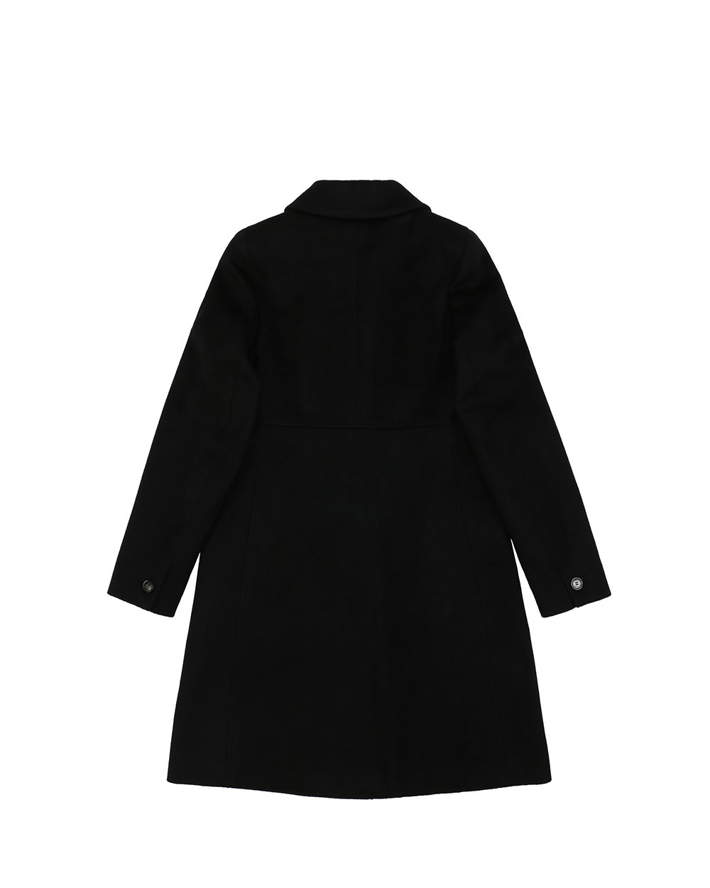 Single-Breasted Mid-Length Trench Coat 1