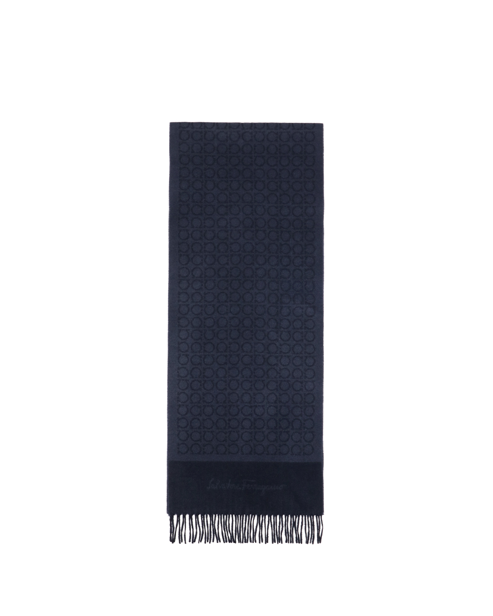 Printed Check Cashmere scarf