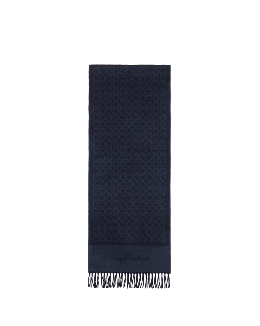 Printed Check Cashmere scarf 1