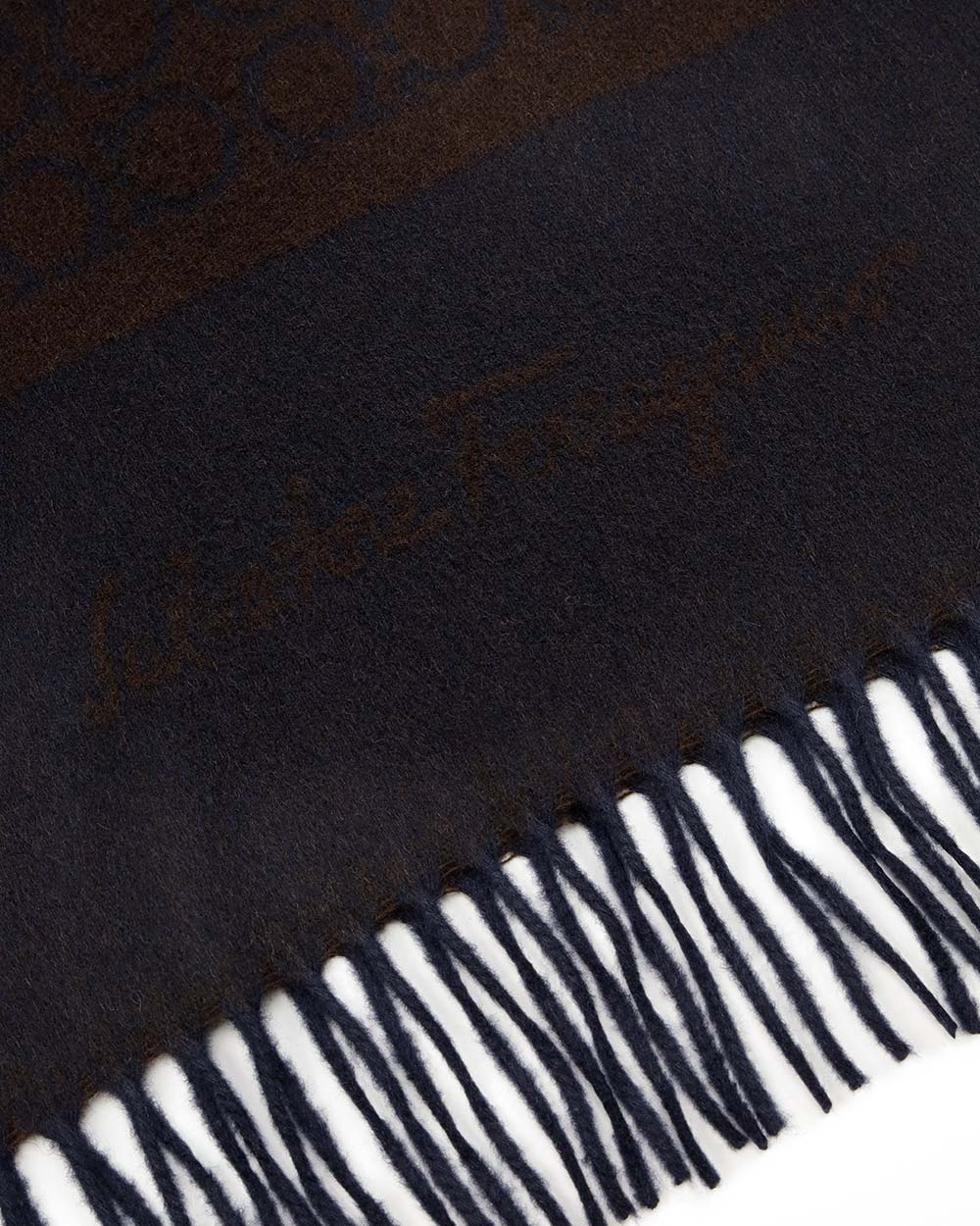 Printed Check Cashmere scarf 2