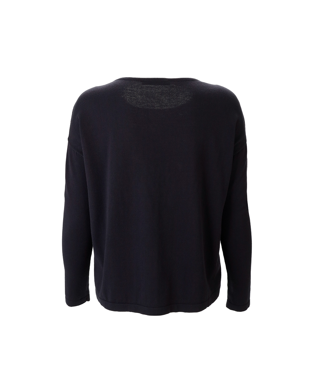Patterned Long Sleeve Crew Neck Sweater 1