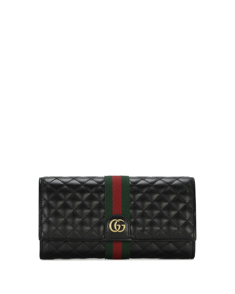 Double G Leather Long Wallet