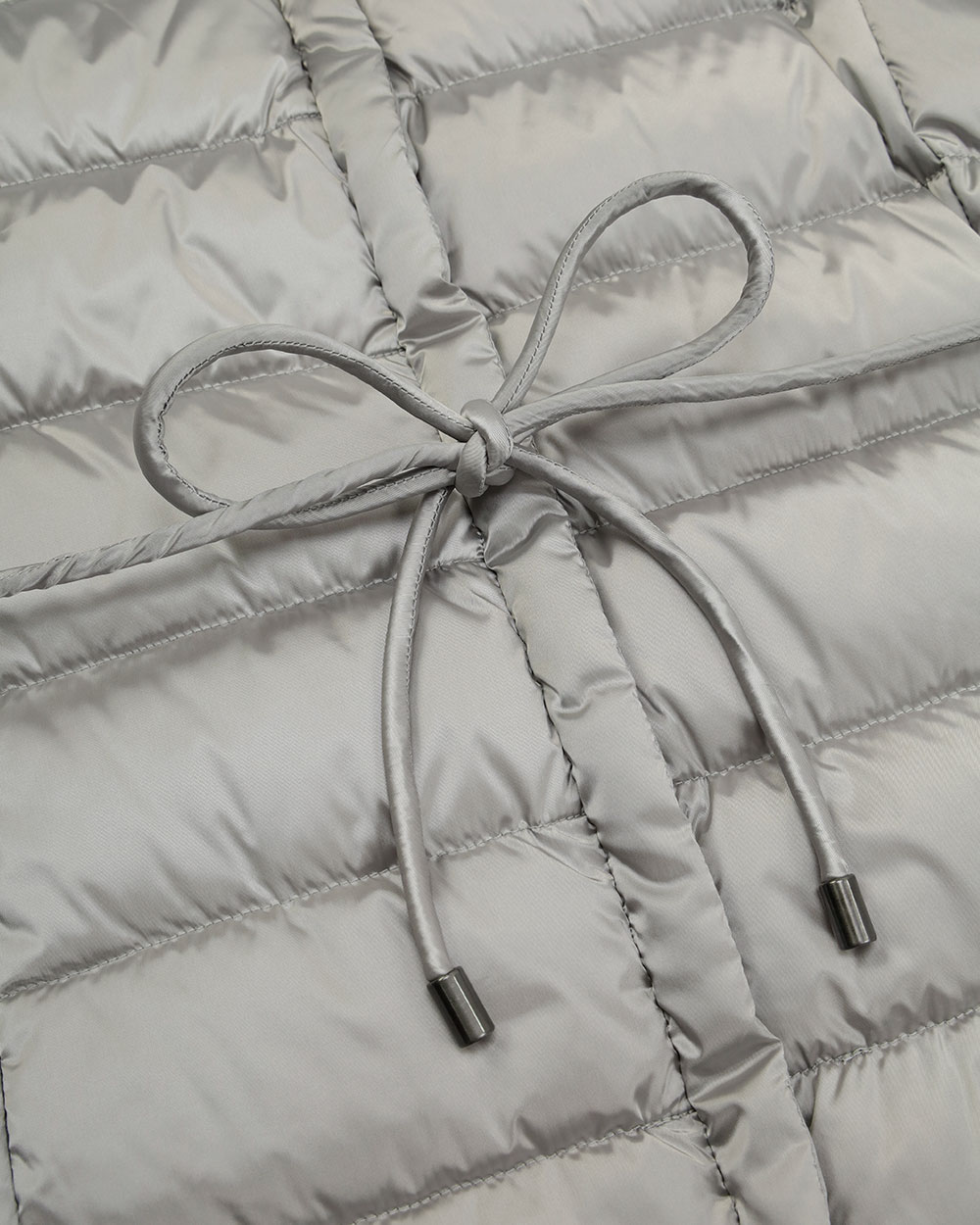 Mid-Length Striped Down Jacket 3