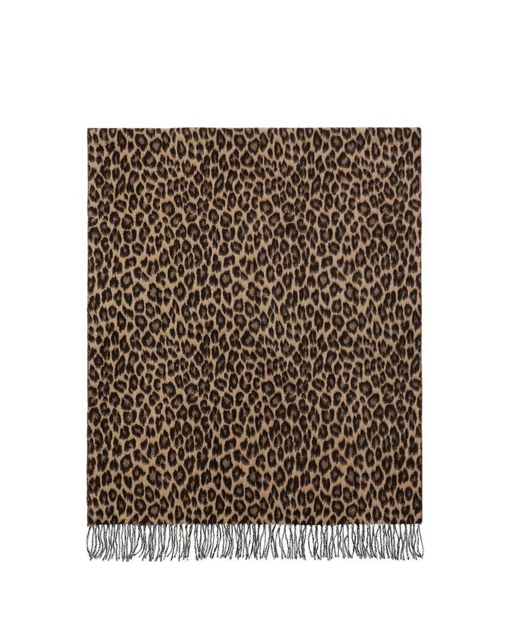 Leopard Print Neck Scarf