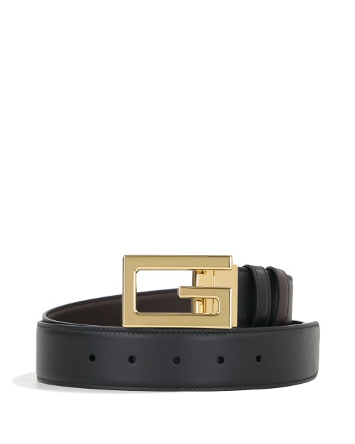 Reversible Belt with Square G Buckle