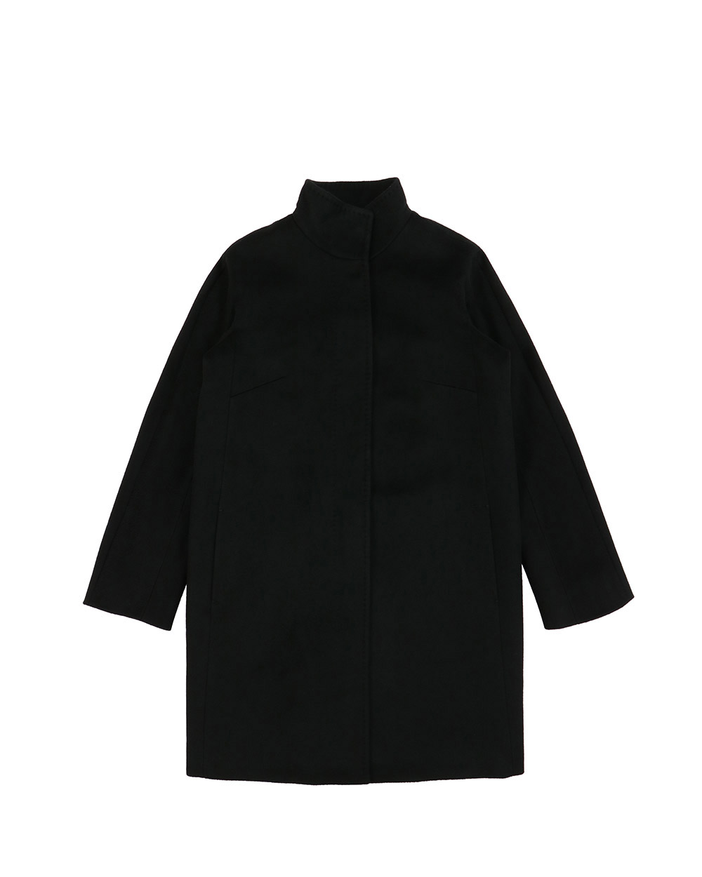 Wool Mid-length Coat