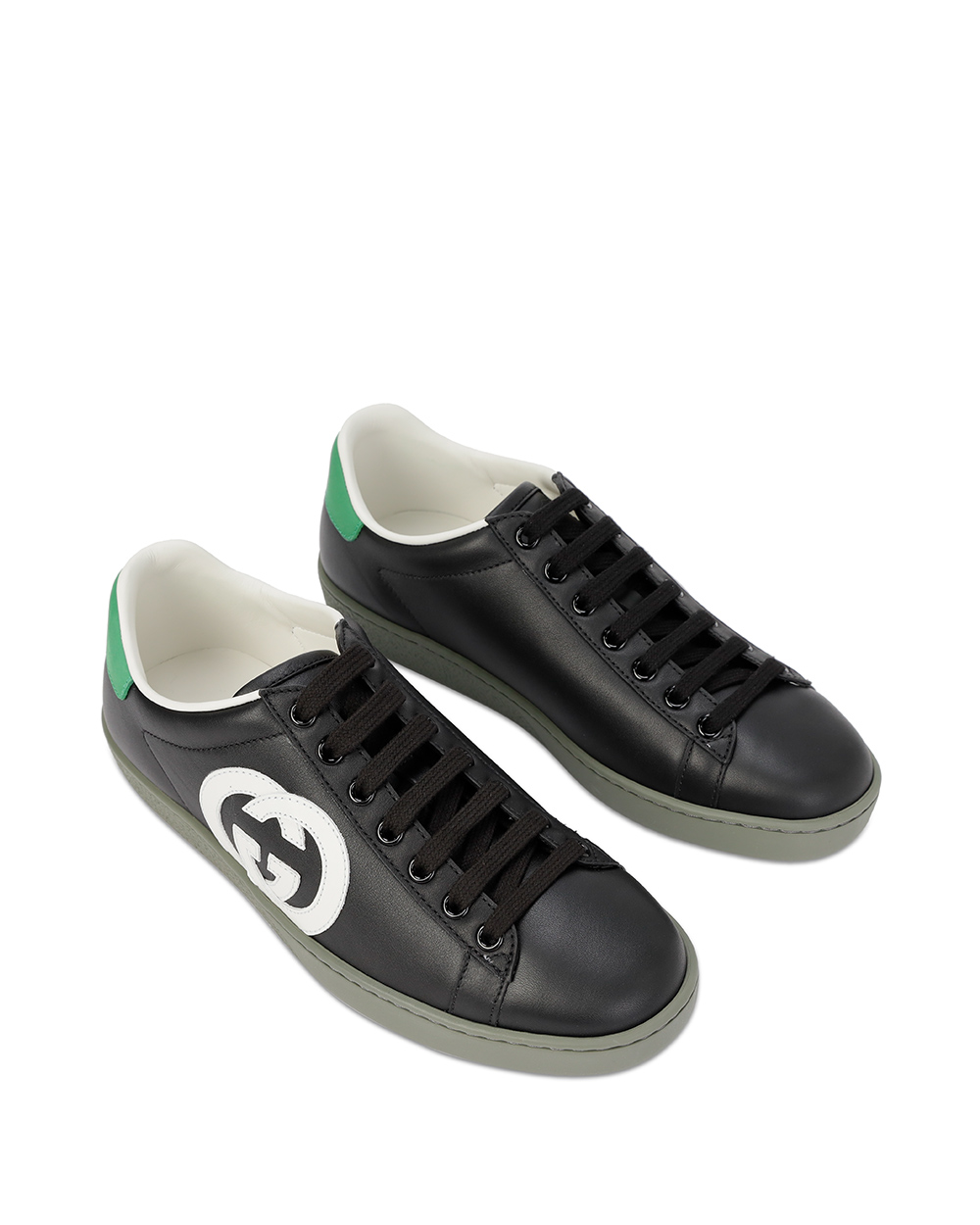 GG Leather Sneakers 1