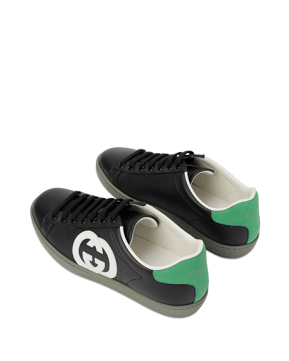 GG Leather Sneakers 2