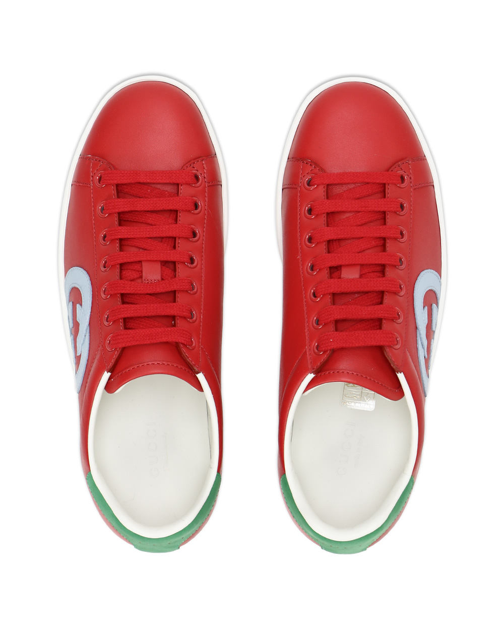 GG Leather Sneakers 3
