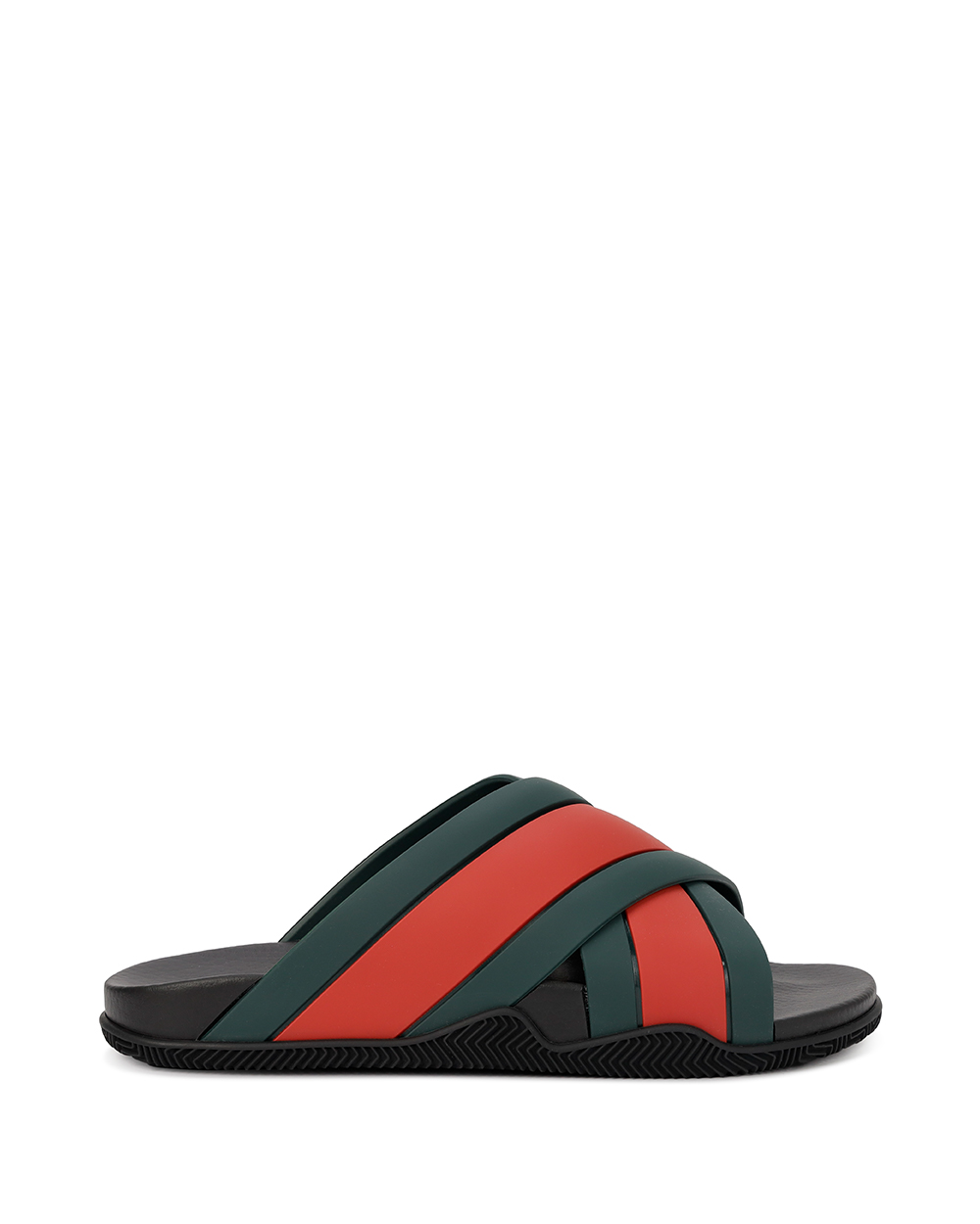 Webbing Rubber Sandals