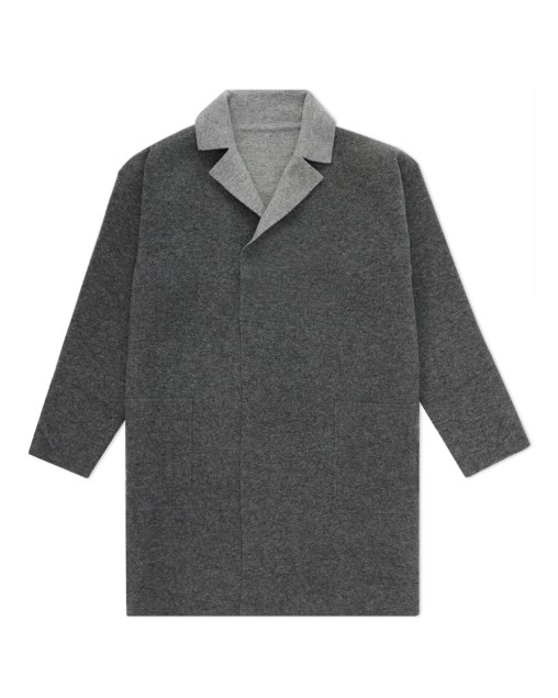 Mid-Length Cardigan Coat