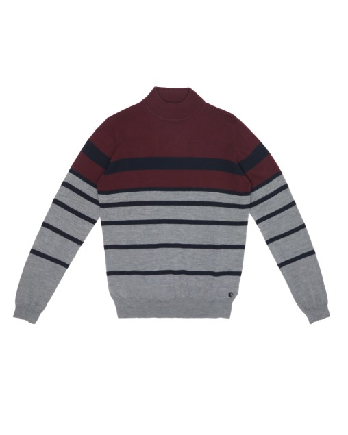 Turtleneck Stripe Sweater