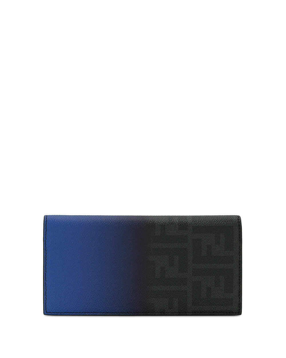 Double F Printed Gradient Long Flap Wallet