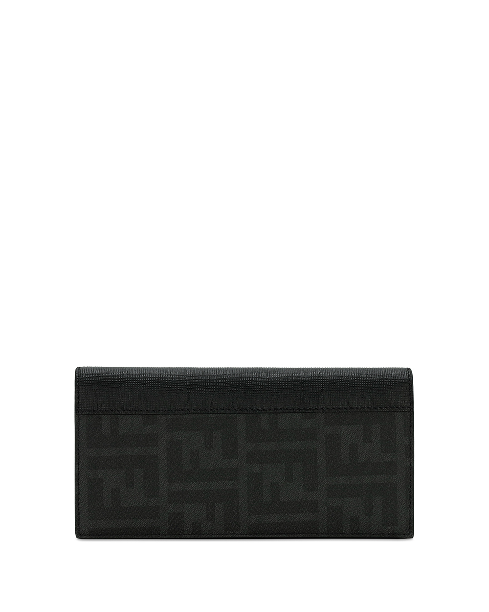 Double F Printed Long Flap Wallet