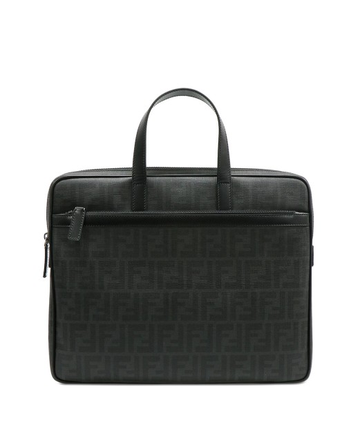 Double F Printed LOGO Zucca Briefcase
