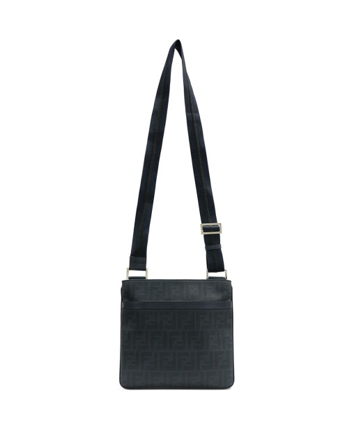 Logo Color Block Messenger Bag
