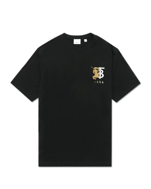 Contrast LOGO Graphic Cotton T-Shirt