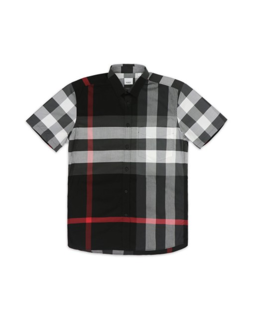 Cotton Classic Check Short-Sleeves Shirt
