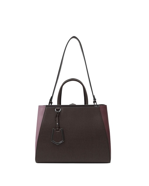 2Jours Textured-leather Tote Bag