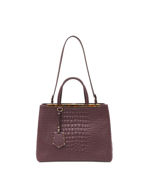 Leather 2WAY Tote