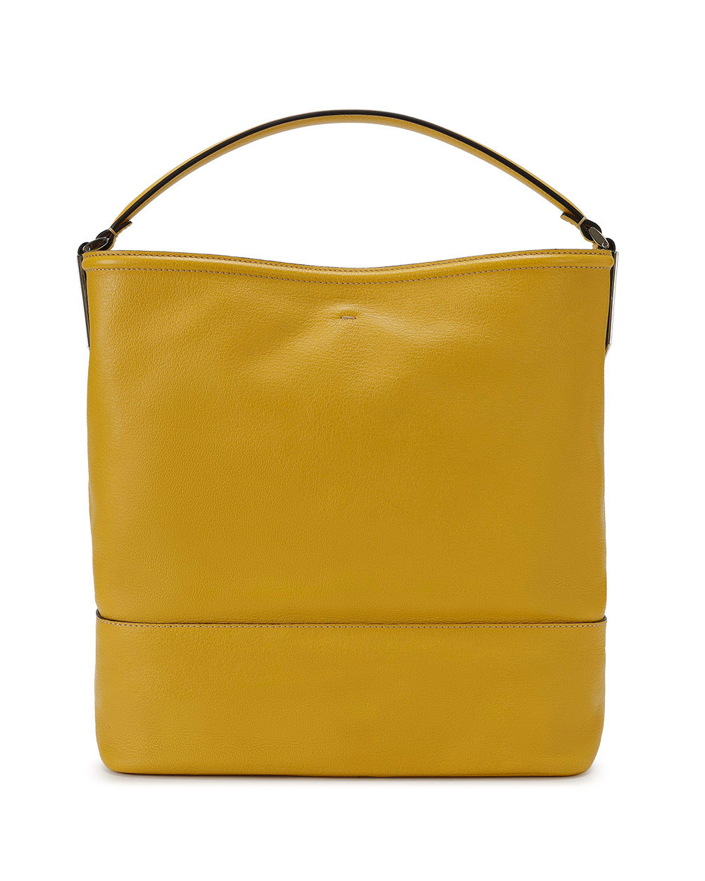 Leather Top Handle Bag 3
