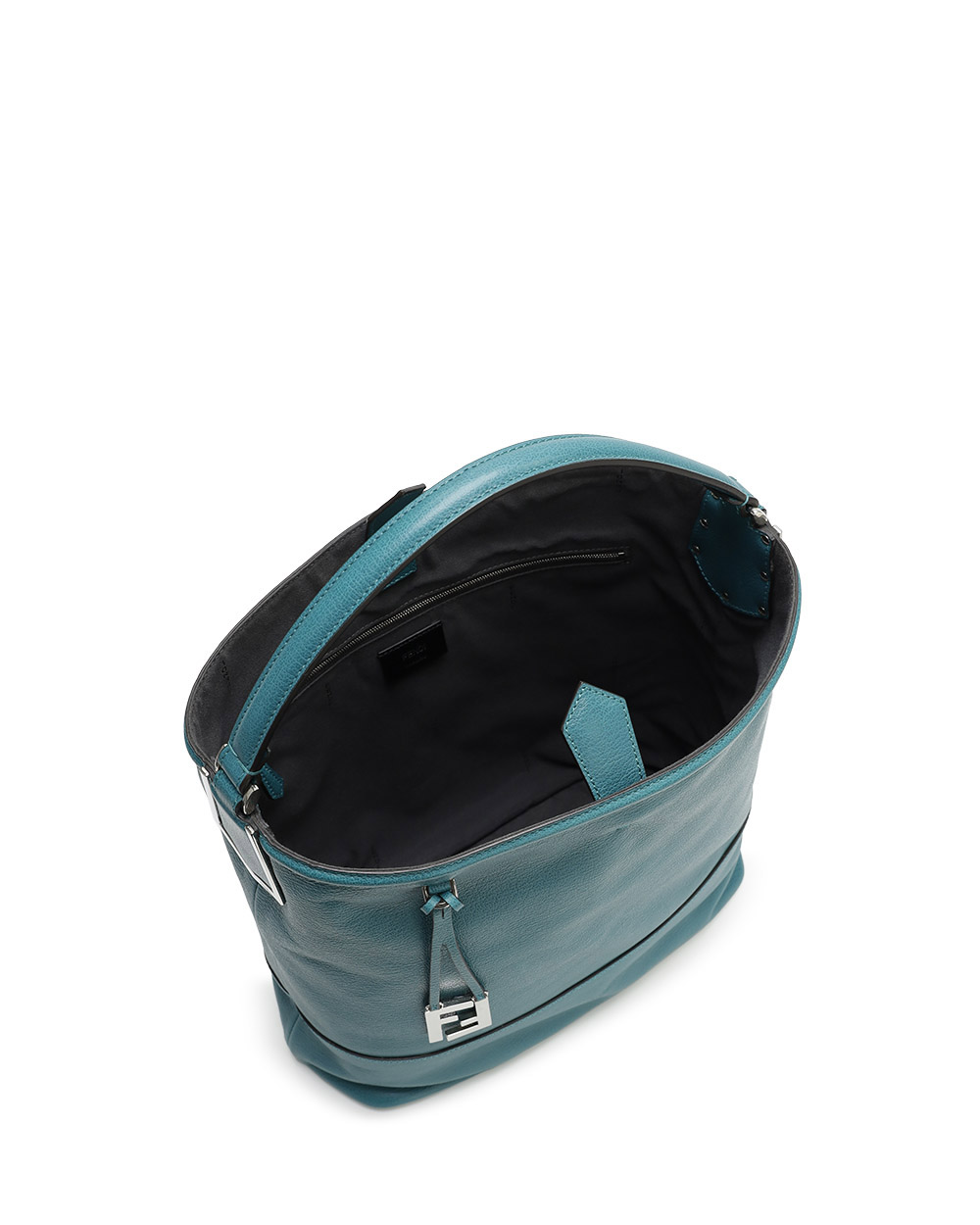 Leather Top Handle Bag 1