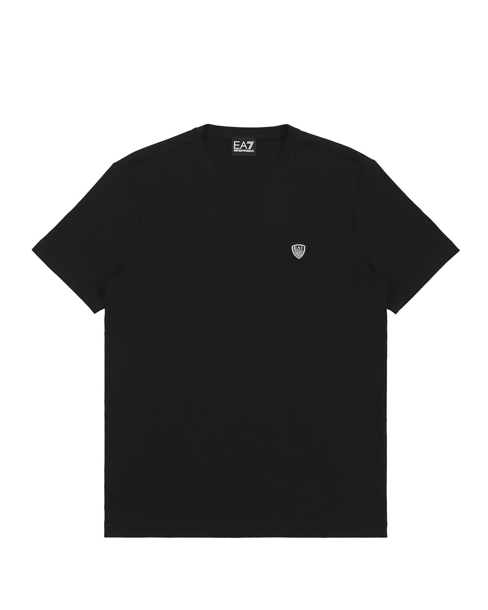 Logo Round Neck Short Sleeve T-Shirt