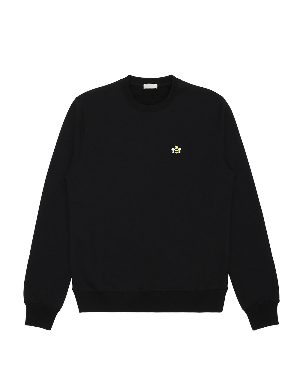 Bee Embroide Long Sleeves Sweater