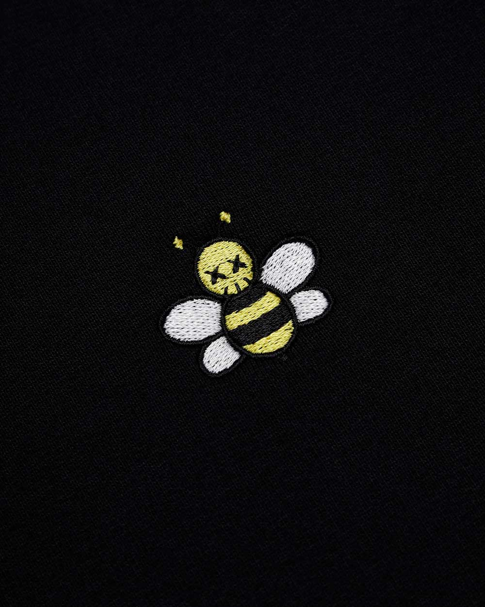 Bee Embroide Long Sleeves Sweater 2