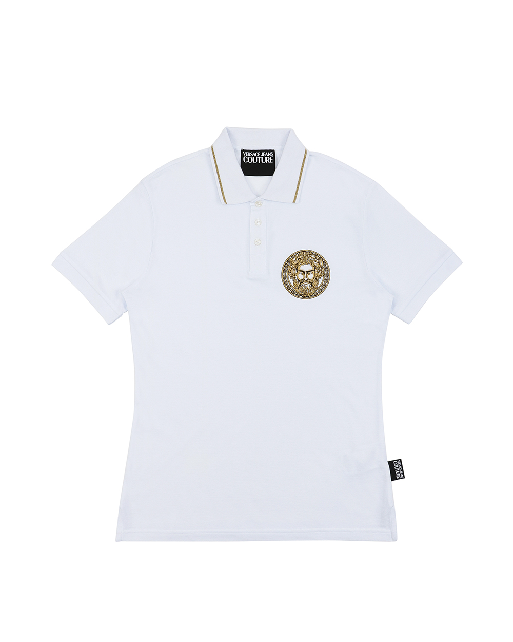 Embroidered Short Sleeves Polo Shirt